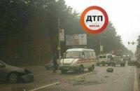 Под Киевом произошло серьезное ДТП с пострадавшими (ФОТО)