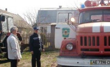 В Петриковском районе Днепропетровской области прошел рейд по пожарной безопасности в лесах