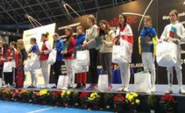Юные украинские фехтовальщики завоевали 10 медалей на международном турнире