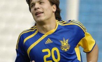 Евгений Коноплянка из «Днепра» дебютировал в сборной