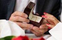 В 2018 году на Днепропетровщине заключили брак более 19 тыс. пар