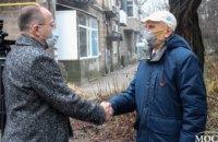Команда ОПЗЖ в Днепропетровской области навестила ветеранов в 77 годовщину освобождения Ленинграда (ФОТО)