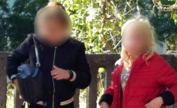 В Днепре четыре девушки-подростка посреди дня распивали алкоголь на улице