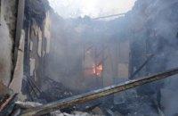 В Днепре 14 спасателей тушили пожар в двухэтажном жилом доме: есть пострадавшие (ФОТО)