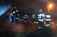 В Днепре горел жилой дом (ФОТО)