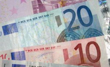 Курс евро снова упал
