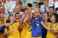 За победу на Евро-2009 украинские футболисты получат по $50 тыс.