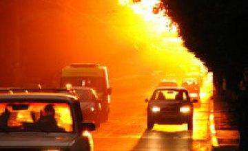 В июле в Днепропетровске был побит 50-летний температурный рекорд