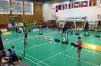 Днепровские бадминтонисты – в тройке лучших на международном турнире в Словении