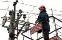 На Днепропетровщине непогода: аварийные бригады энергетиков работают в усиленном режиме