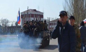 Минобороны сообщило о захвате 6 единиц бронетехники в Краматорске