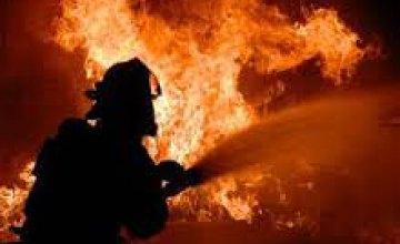 В Днепре горел цех по производству полиэтиленовой пленки