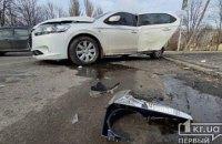 На Днепропетровщине столкнулись две иномарки: пострадали двое взрослых и ребенок (ФОТО)