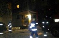 В Днепре при пожаре квартиры погиб мужчина (ВИДЕО)
