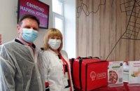 «Добрі традиції об'єднують»: 12 квітня донорів Biopharma Plasma Дніпро пригостили смачною піцою  від «ECO&PIZZA» (ФОТО)