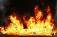 В Днепре произошел пожар в 2-этажном жилом доме: спасено 2 человека