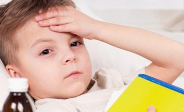 За минувшую неделю на Днепропетровщине ОРВИ и гриппом заболели почти 7 тысяч детей