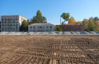 Продолжается масштабная реконструкция стадиона в центре Верхнеднепровска – Валентин Резниченко