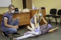 В Днепре председателей ОСМД учат оказанию первой домедицинской помощи