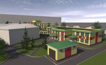 В Слобожанском к 1 сентября откроют новую школу (ВИДЕО)