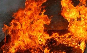 В Днепре произошло самовозгорание уличных фонарей
