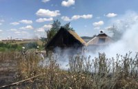 Огонь перебросился на частный дом: в Пятихатском районе ликвидировали масштабный пожар в экосистеме