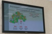 Успехи децентрализации Днепропетровской области распространяют по стране, - облсовет