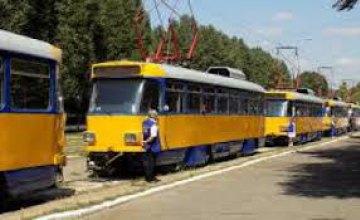 В Днепре некоторые трамвайные рейсы изменят маршруты следования
