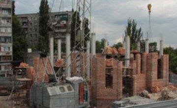 Строительство храма на Мандрыковской будет закончено до 13 октября 2008 года