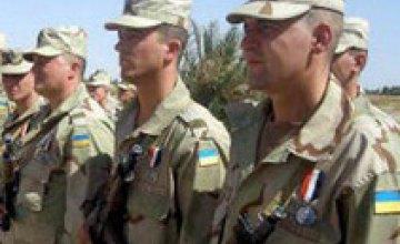 Украинские милиционеры-миротворцы, уехавшие в Косово, получат статус участников боевых действий