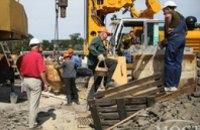 Строители съездов с Кайдакского моста получают 5 тыс грн