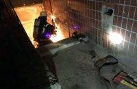 В Каменском горел подвал 10-этажного жилого  дома (ФОТО)