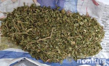 В Новомосковске местный житель хранил дома наркотики гранату РГД