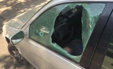 В Одессе неизвестные на Porsche устроили ограбление со стрельбой