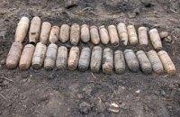 На Днепропетровщине пиротехники обезвредили 32 единицы боеприпасов