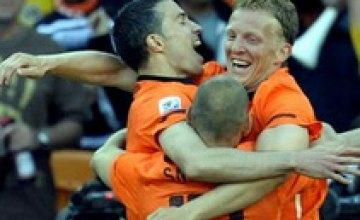 ЧМ–2010: Голландия обыграла Данию 2:0