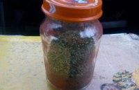 На Днепропетровщине у мужчины изъяли банку с марихуаной