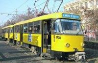 Сегодня в Днепре трамваи №18 и №19 будут курсировать по сокращенному маршруту