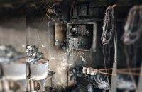 На Днепропетровщине сгорел гараж вместе с автомобилем