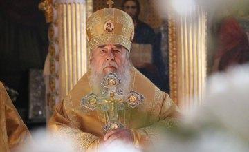 На Днепропетровщине отмечается 26-я годовщина архипастырского служения митрополита Днепропетровского и Павлоградского Иринея