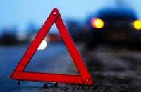 В Днепре на виадуке столкнулись 4 авто: движение затруднено