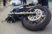 В Днепре мотоциклист насмерть сбил пешехода