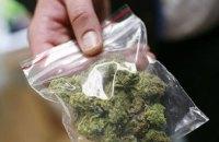 В Днепре задержали трех мужчин с полной сумкой наркотиков