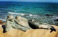 В Одессе у моря установили памятник мечтателю (ФОТО)