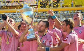 Днепропетровский «Выбор» стал чемпионом Украины по пляжному футболу