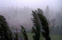 Мокрый снег и шквальный ветер оставили без света почти 400 населенных пунктов в 10 областях Украины