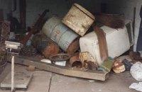 На Днепропетровщине 31-летний мужчина открыл незаконный пункт приема металла