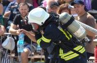 В Днепре выбрали сильнейшего спасателя Украины: как это было (ФОТОРЕПОРТАЖ)
