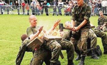 В Днепропетровской области начались учения формирований территориальной обороны