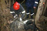 На Днепропетровщине мужчина провалился в 7-метровую выгребную яму (ФОТО)